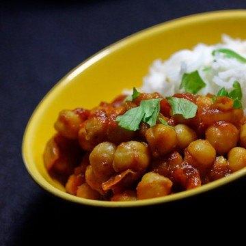 Rezept Indisches Kichererbsen-Curry