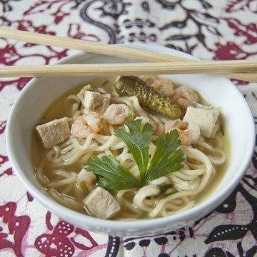 Rezept Indonesische Nudelsuppe