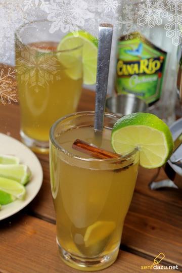 Rezept Ingwer Zitronen Tee Caipirinha Punsch