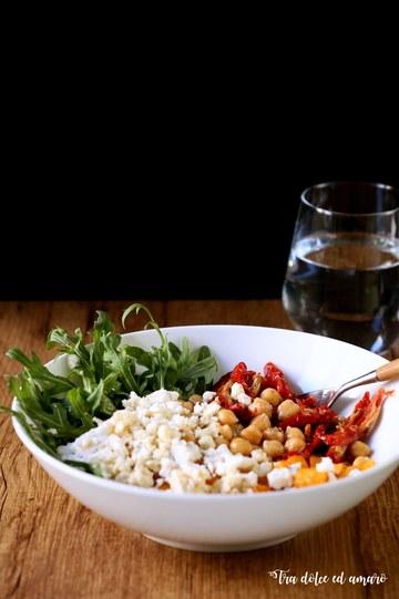 Rezept Insalatone mit Quinoa und Ofenkürbis
