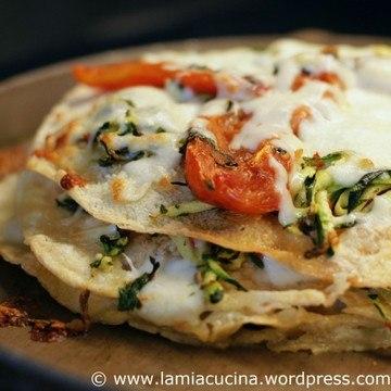 Rezept Instant-Pizza aus Pane Carasau
