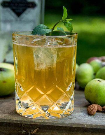 Rezept Irisch inspirierter Gin Cocktail mit Apfelaroma