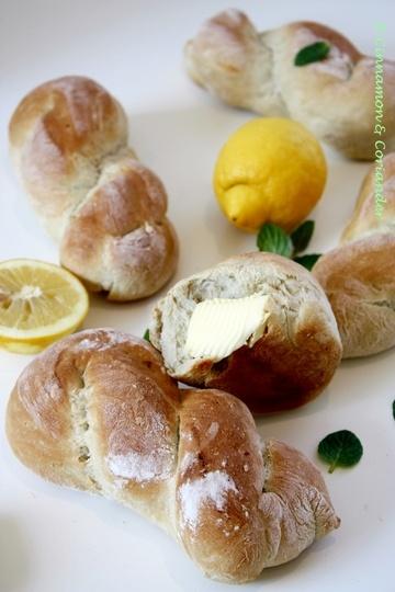 Rezept Italienische Nodini mit Minze & Zitrone