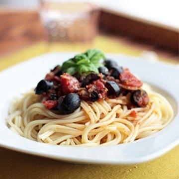 Rezept Italienische Pasta mit Oliven