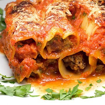 Rezept Italy goes Turkey: Canneloni con agnello al turco