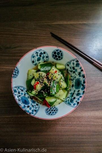 Rezept Japanischer Gurkensalat