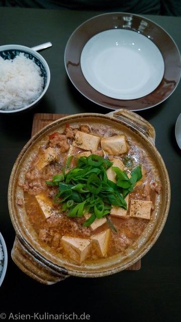 Rezept Japanisches Mapo Dofu
