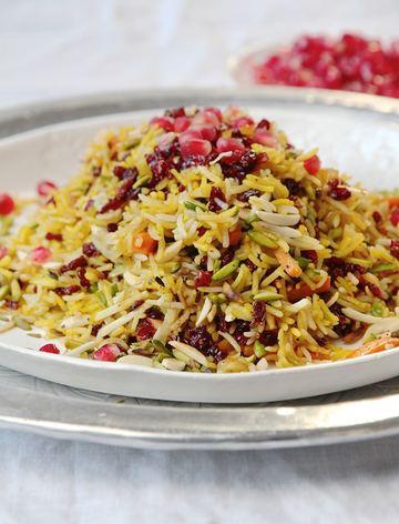 Rezept Javaher polo - persischer Juwelenreis