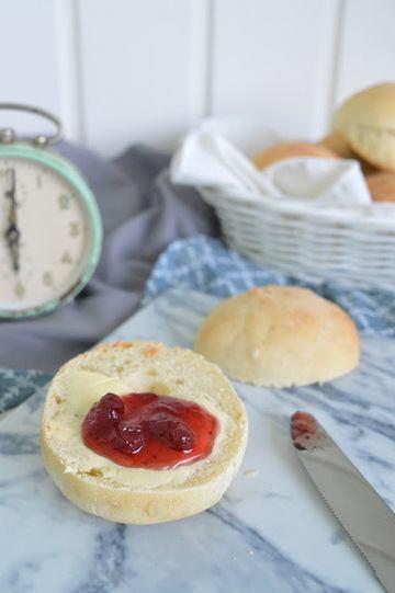 Rezept Joghurt Honig Brötchen