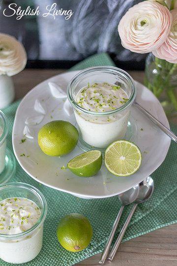 Rezept Joghurt-Limetten-Mousse mit Vanille