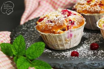 Rezept Joghurt-Muffins mit Johannisbeeren