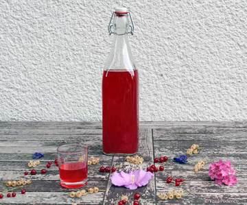 Rezept Johannisbeer-Likör ganz einfach selbst gemacht