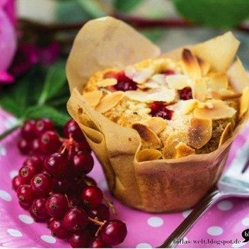 Rezept Johannisbeer-Muffins, vegan