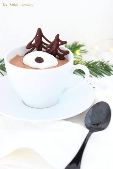 Rezept Kaffeemousse...