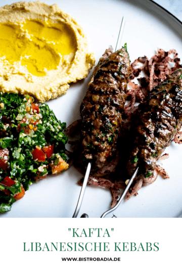 Rezept Kafta – Libanesische Kebabs