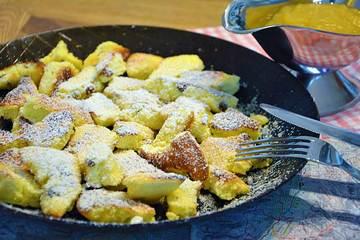Rezept Kaiserschmarrn im Ofen