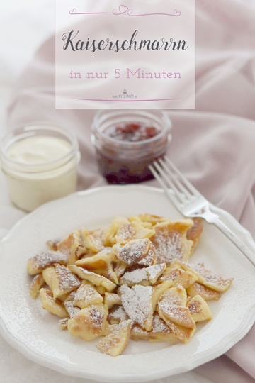 Rezept Kaiserschmarrn in 5 Minuten