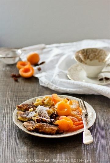 Rezept Kaiserschmarrn mit Aprikosen-Kompott