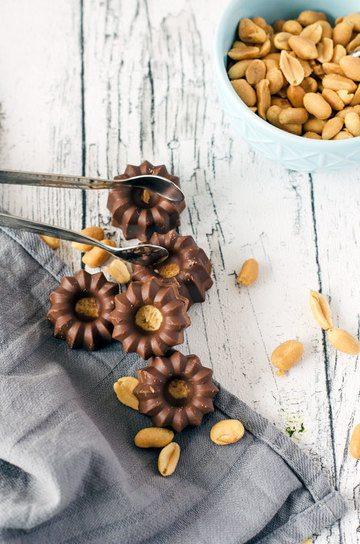 Rezept Kalorienarme Erdnussbuttercups