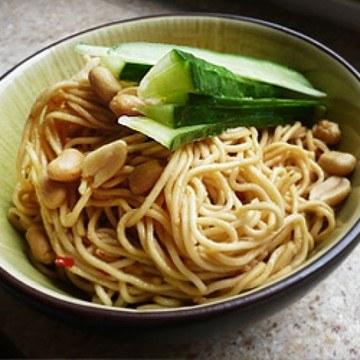 Rezept Kalte chinesische Sesamnudeln