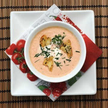 Rezept Kalte Gurken-Tomaten-Suppe