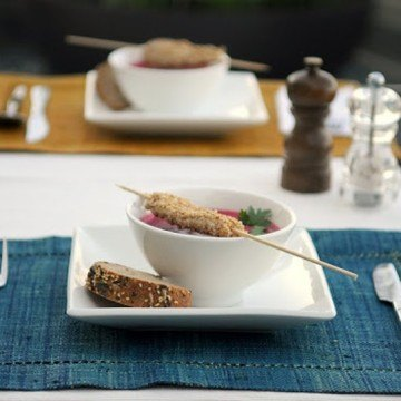 Rezept Kalte Rote-Beete-suppe asisatisch angehaucht