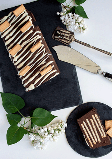 Rezept Kalter Hund mit dunkler oder weißer Schokolade