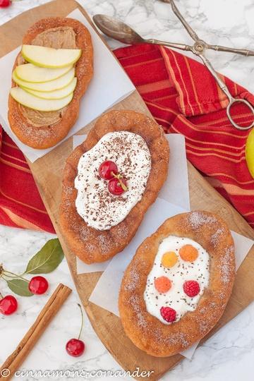Rezept Kanadische Doughnuts (Biberschwänze)
