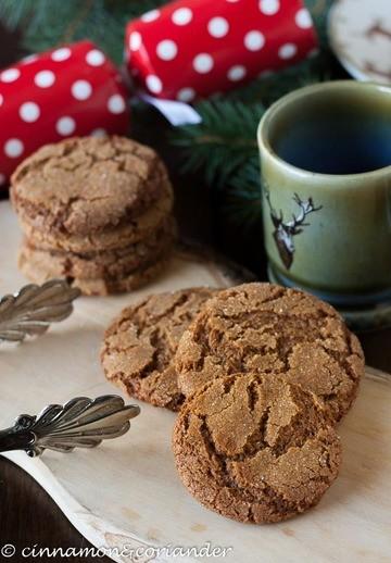 Rezept Kanadische Ingwer-Plätzchen (Gingersnap Cookies)