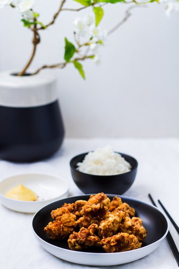 Rezept Karaage - Japanische frittierte Hähnchenstücke