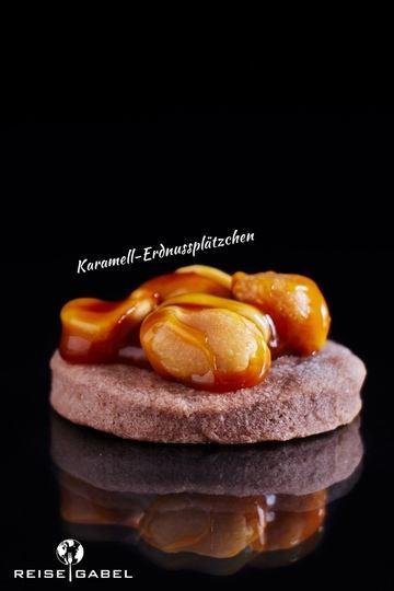 Rezept Karamell-Erdnussplätzchen