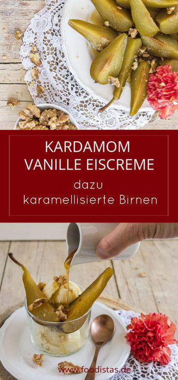 Rezept Kardamom Vanille Eiscreme