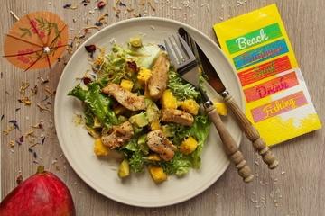 Rezept Karibischer Hühnersalat