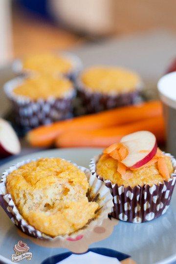 Rezept Karotten-Apfel-Muffins