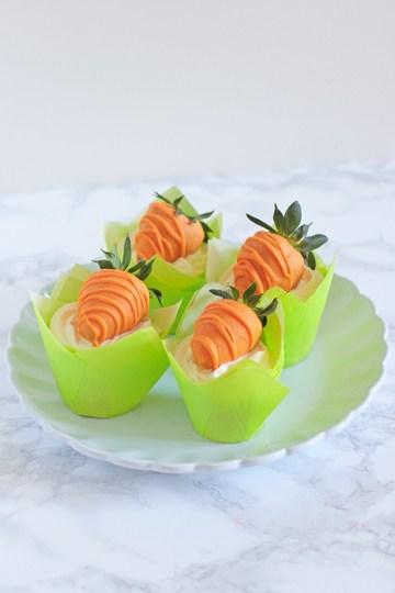 Rezept Karotten Cupcakes
