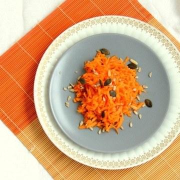 Rezept Karotten-Curry-Salat