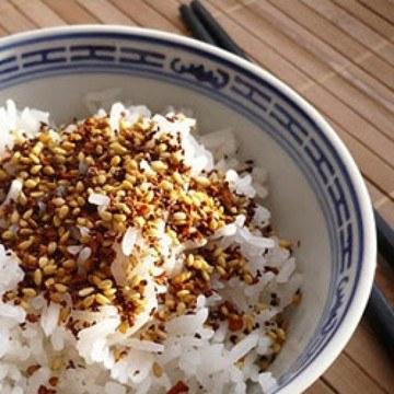 Rezept Karotten Sesam Furikake ohne Nori