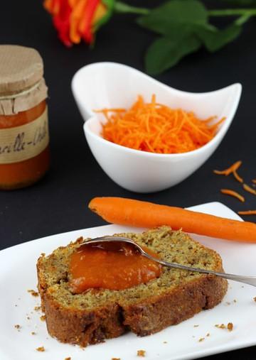 Rezept Karottenkuchen (auch für Diabetiker)
