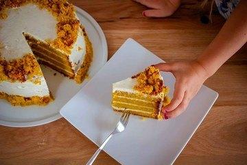 Rezept Karottenkuchen, klassisch, einfach und lecker!