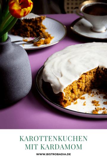 Rezept Karottenkuchen mit Kardamom