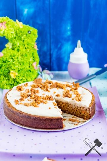 Rezept Karottenkuchen mit Mascarpone Glasur