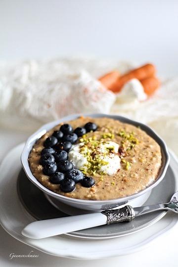 Rezept Karottenkuchen-Porridge