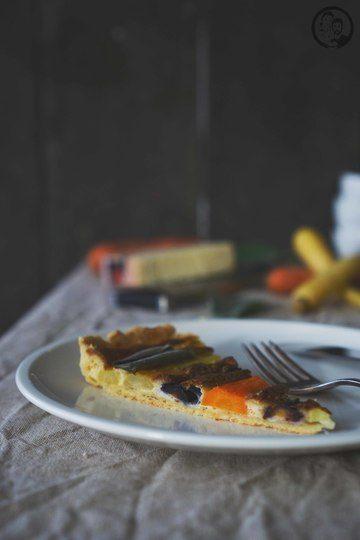 Rezept Karottentarte mit Bergkäse und Salbei