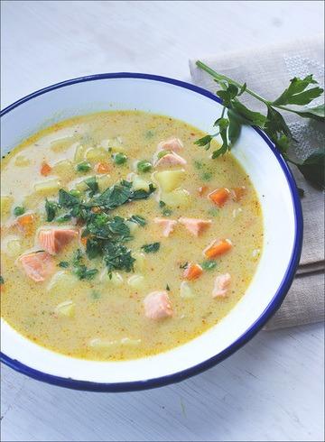 Rezept Kartoffel-Erbsen-Suppe