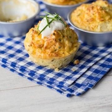 Rezept Kartoffel-Käse-Muffins