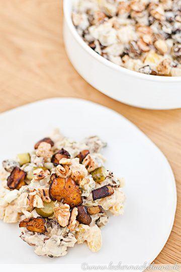 Rezept Kartoffel-Pilz-Salat mit Walnüssen