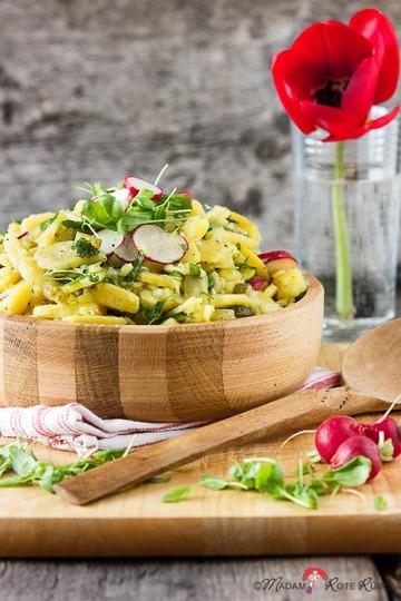 Rezept Kartoffel-Radieschen-Kresse-Salat
