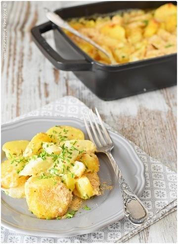 Rezept Kartoffel-Spargelauflauf