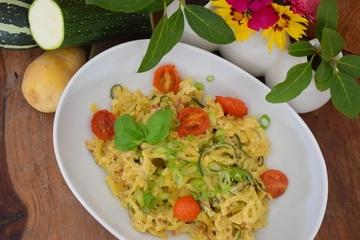 Rezept Kartoffel-Zucchini-Carbonara
