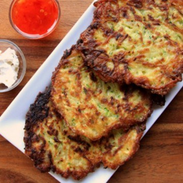 Rezept Kartoffel-Zucchini-Reibekuchen
